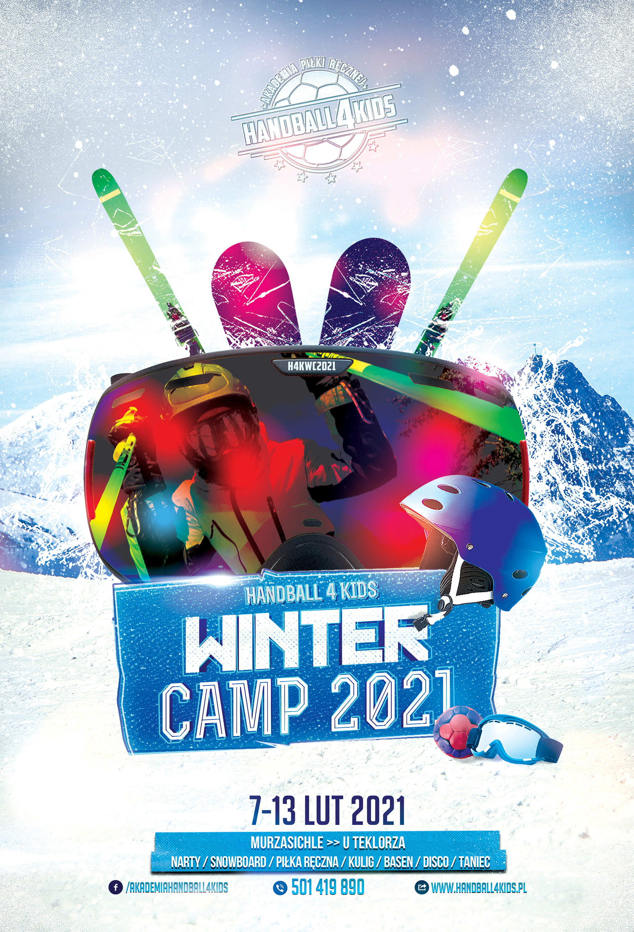 H4K Winter Camp 2021   Poster
